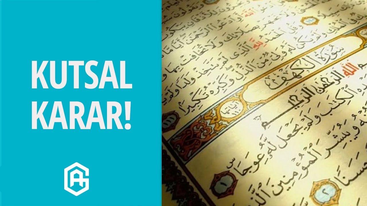 Kuran Nasıl Mushaf Haline Getirildi? | Davut Kaya #1